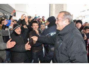 Sivas'ta Galatasaray İzdihamı