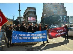 Zonguldaklı Ülkücülerden Fırat Çakıroğlu Tepkisi