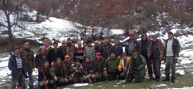 Samsun'da Avcılar Silah Bıraktı