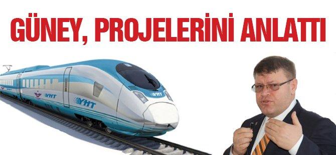 """Adem Güney: """"Hızlı Tren Bu Dönem Samsun'a Mutlaka Getirilmeli"""""""