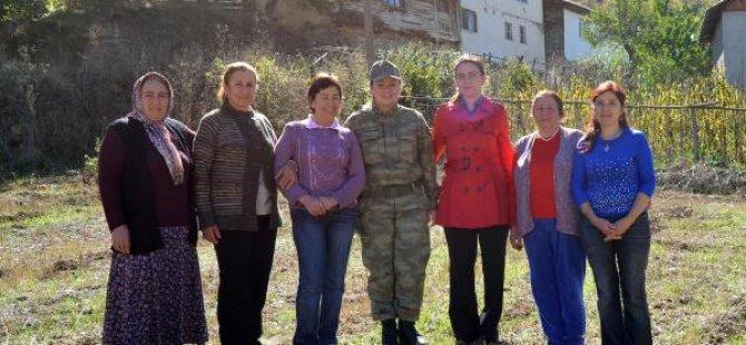 Kadın Komutan, Kadına Şiddete Karşı