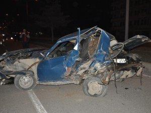 Yozgat'ta Trafik Kazasında 6 Yaralı