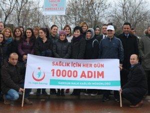 """Samsun'da """"Tuzu Azaltın"""" Yürüyüşü"""