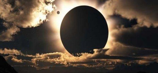 Güneş Tutulması Samsun'da Saat 12.11'de