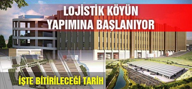 Samsun'da Lojistik Köyün Yapımına Başlanıyor