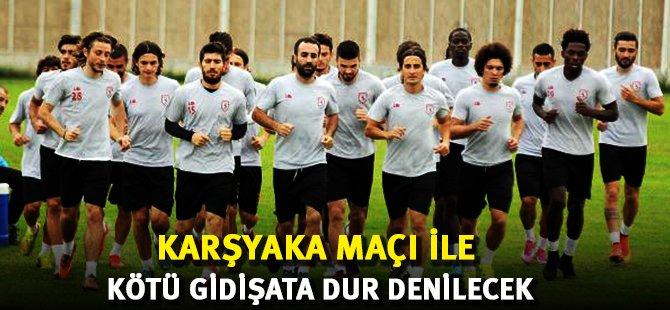 Samsunspor Karşıyaka Maçı İle Yükselişe Geçme Hesabı Yapıyor