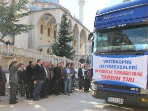 Bayır Bucak Türkmenleri İçin Samsun'dan 3 Tır Yola Çıktı
