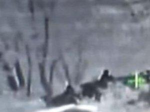 Şırnak'ta Teröristlerin Öldürülme Anı Kamerada