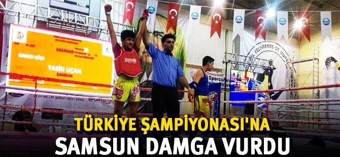 Muaythai Türkiye Şampiyonası'na Samsun Damgası