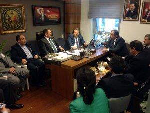 Samsun Milletvekili Köktaş'a Ladik Teşkilatından Hayırlı Olsun Ziyareti