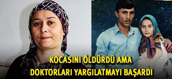 Samsun'da Kocasını Bıçaklayan Kadın Doktorları Hakim Karşısına Çıkarttı