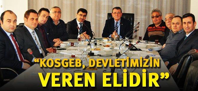 """Samsun TSO Başkanı Murzioğlu: """"KOSGEB, Devletimizin Veren Elidir"""""""