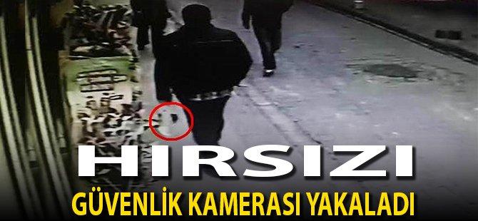 Samsun'da Hırsızı Güvenlik Kamerası Yakaladı