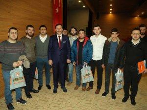 Samsun İlkadım Belediyesi Başkanı Tok Gençlerle Buluştu