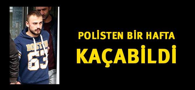 Samsun'da Polisten Kaçan Şüpheli Bir Hafta Sonra Yakalandı