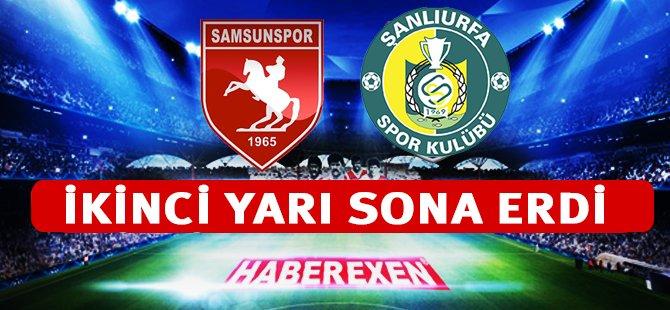 Şanlıurfaspor - Samsunspor Maçı  Sonucu 2- 3