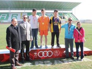 Samsun'da Atletizm Seçmeleri Yapıldı