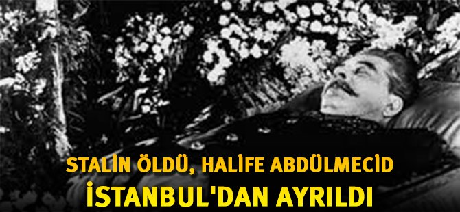 Son Halife Abdülmecid Osmanoğlu İstanbul'dan Ayrıldı