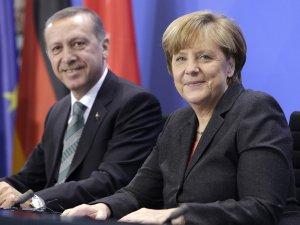 Cumhurbaşkanı Erdoğan, Merkel İle Görüştü