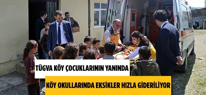 TÜGVA'dan Samsun'daki Köy Okullarına Önemli Hizmet