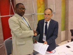 Samsun OMÜ Rektörü Akan 2. Türk-Arap Yükseköğretim Kongresi'nde