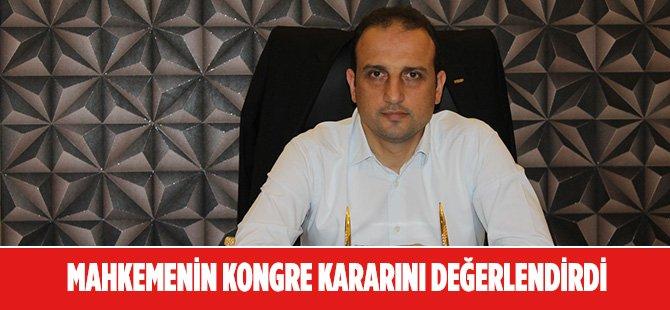 MHP Samsun İl Eski Başkanı Ömer Süslü Mahkemenin Verdiği Kongre Kararını Değerlendirdi