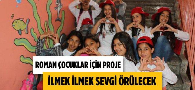Samsun'da Roman Çocuklara Sevgi Açılımı