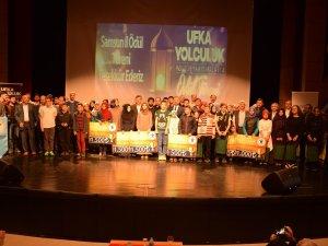 Samsun'da Ufka Yolculuk Kültür Yarışmalarının Ödülleri Dağıtıldı