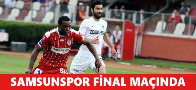 Samsunspor Final Maçında
