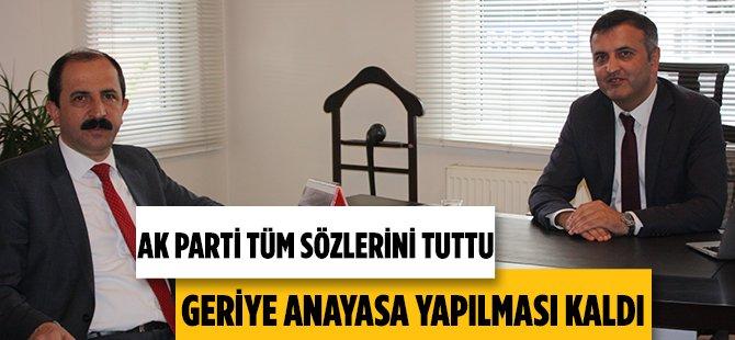"""AK Parti Samsun İl Başkanı Muharrem Göksel; """" Yeni Anayasa Vatandaşımıza Hazırlanacak Kitapçıklar İle Anlatılacak """""""