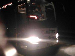 Eskişehir'de Kaza: 56 Yolcu Panik Yaşadı