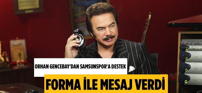 Orhan Gencebay'dan Samsunspor'a Destek