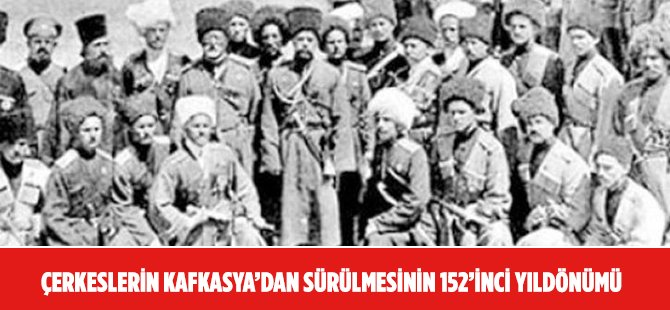 Rus Zulmünden Kaçan 1,5 Milyon Çerkesin 600 Bini Sağ Kalabildi
