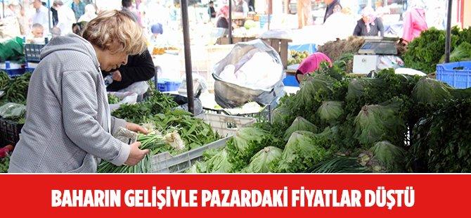 Samsun'da Baharla Birlikte Pazardaki Fiyatlar Düştü