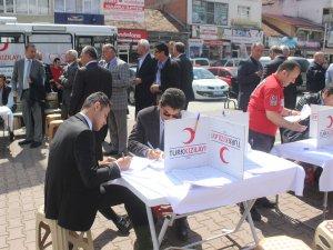 Samsun'da Kan Bağışı Kampanyası