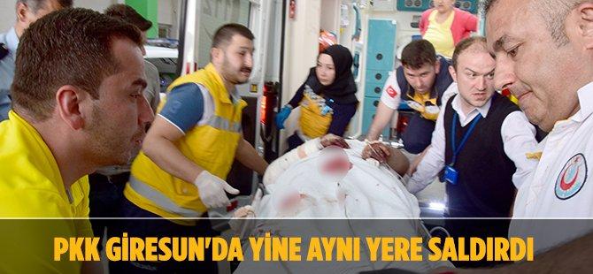 Teröristler Giresun'da Saldırdı; 1 Yaralı