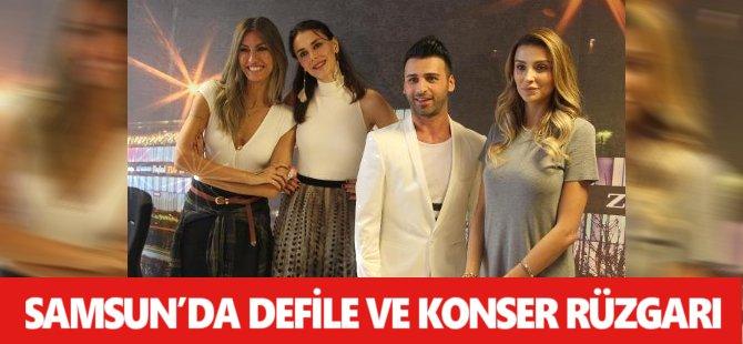 Samsun'da Defile Ve Konser Rüzgarı
