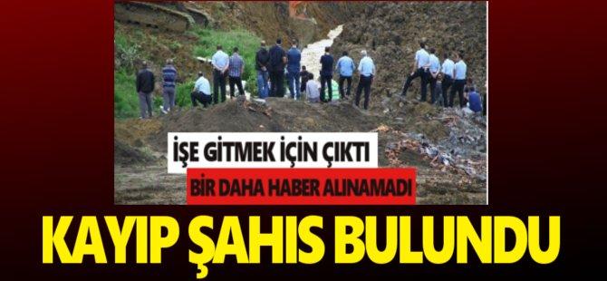 Samsun'da Kayıp Şahıs Evine Döndü