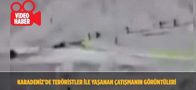 Giresun'da Teröristlerin Vurulma Anı