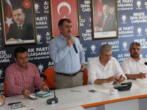 AK Parti Çarşamba İlçe Danışma Meclisi Toplantısı Gerçekleştirildi