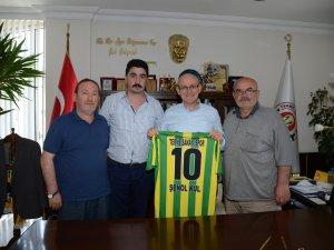 Samsun'da Terme Sanayi Spor Kulübü'nden Kul'a Ziyaret