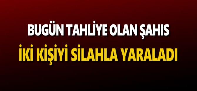 Samsun'da Bugün Tahliye Olan Şahıs İki Kişiyi Silahla Yaraladı