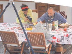 Halit Ergenç, Bergüzar Korel ve Ali Ergenç Datça'da