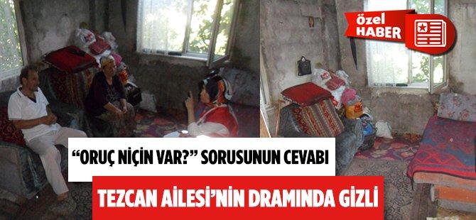 Yardımlaşma Ayı Ramazan'da Oruçlu Gözler Samsun'daki Tezcan Ailesi'nin Dramını Görmeli