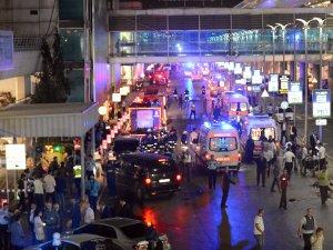 İstanbul Emniyet Müdürü Mustafa Çalışkan Atatürk Havalimanı'nda İncelemelerde Bulundu