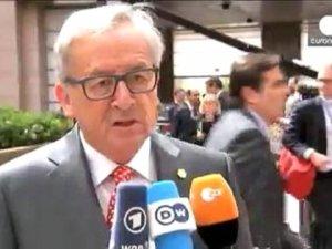 AB Liderleri Brüksel'de Görüşüyor