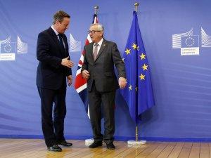 Cameron, AB Liderleriyle Görüşüyor
