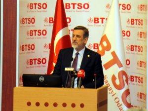 """BTSO Başkanı Burkay; """"Gelecekte Ciddi Adımlar Atacağız"""""""