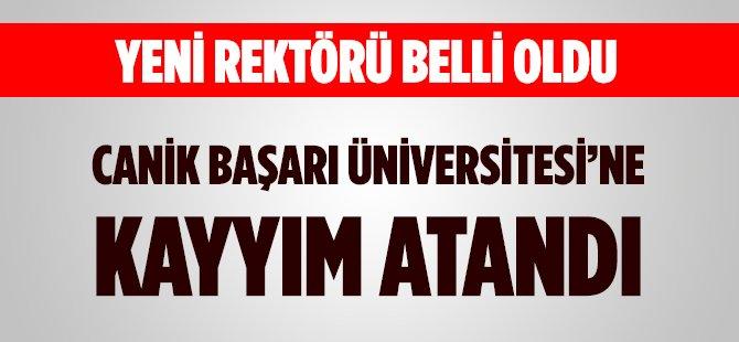 Samsun Canik Başarı Üniversitesi'ne Kayyım Atandı