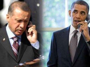 Cumhurbaşkanı Erdoğan ABD Başkanı Obama İle Görüştü